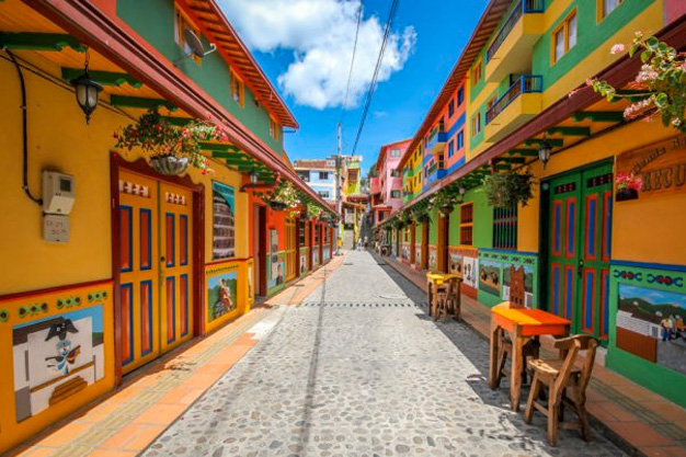 Most Colourful Buildings in Latin America